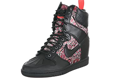 buy popular ed705 79f52 ... switzerland nike dunk sky hi liberty sneakerboot qs wmns baskets femme  632180 006 0d3fb b861a