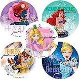 100 Per Pack SmileMakers Inc SG/_B01NCMQN08/_US Party Favors Disney Princess Stickers