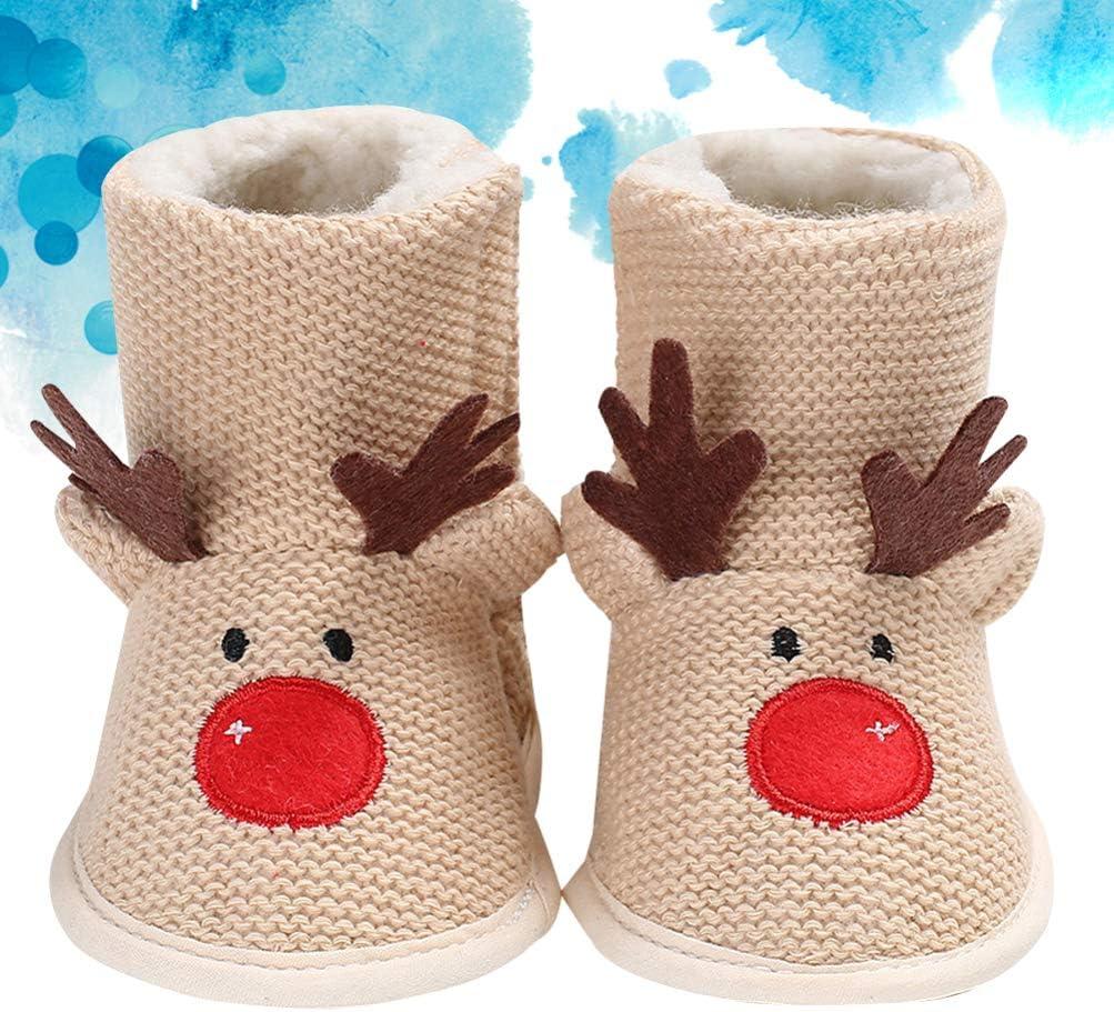 FENICAL Baby Christmas Reindeer Fleece
