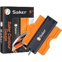 Saker Contour Gauge (5 Inch Lock) Profile Tool- Adjustable Lock-Precisely Copy Irregular Shape Duplicator -Irregular…