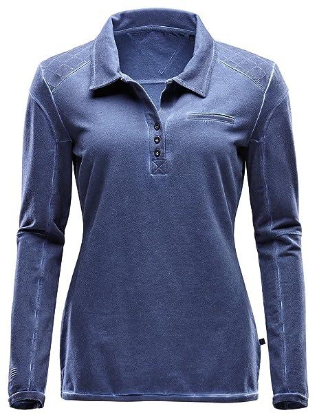 Marinepool Polo Aurelia Long Sleeve Women - Polo para Mujer ...