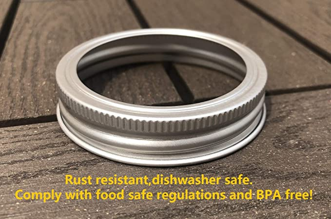 Details about  /Carbon Steel Screw Bands Rings for Ball Jars Regular, 12 #uu