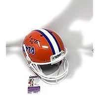 $199 » Tim Tebow Florida Gators Signed Autograph Full Size Helmet Schutt JSA Certified