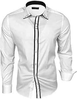 Baxboy B 500 Camisa de manga larga para hombre, para