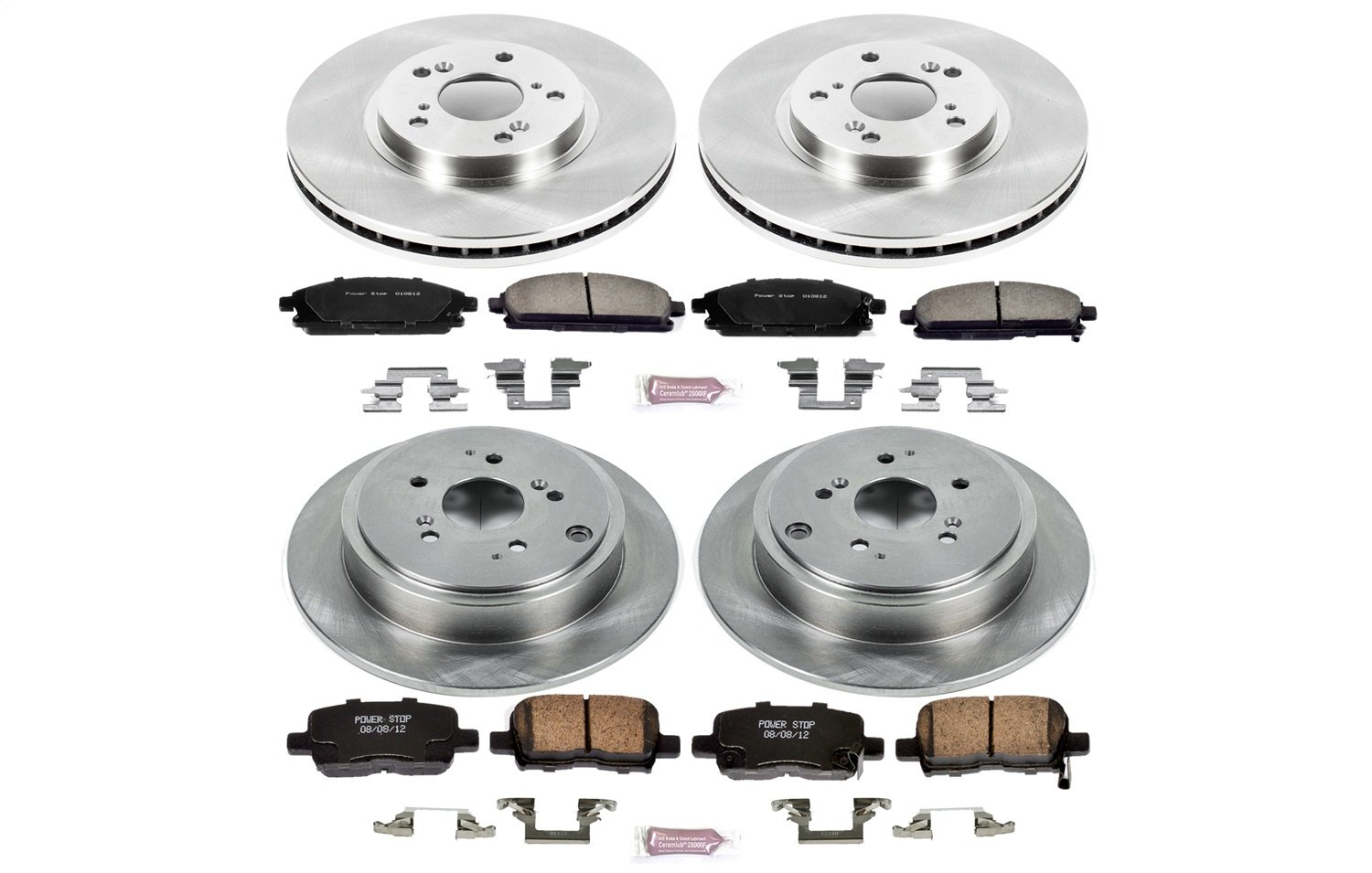 Autospecialty KOE2291 1-Click OE Replacement Brake Kit by Power Stop