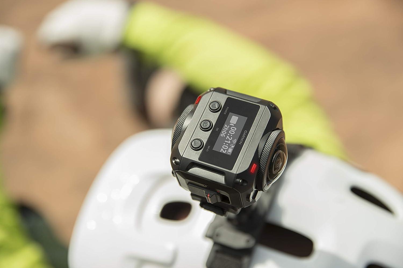 Noir Wi-FI Garmin Virb Ultra 30/Power Mount Bundle Action Camera 4/K GPS