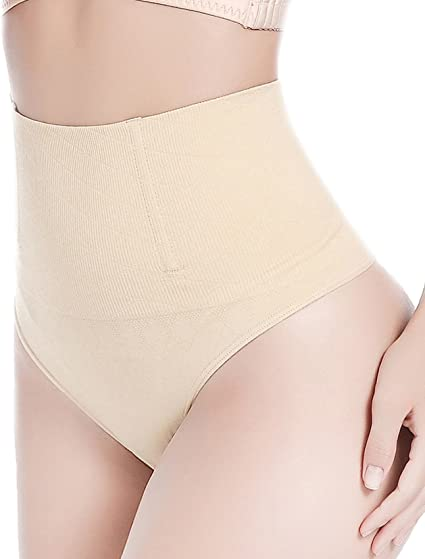 High Waist Women G String Shaping Thong Tummy Control Girdle Slim Shaper Panties
