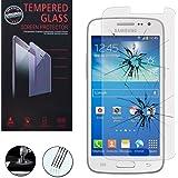 VCOMP® 1 Vitre Trempé de protection d'écran pour Samsung Galaxy Core LTE 4G SM-G386F