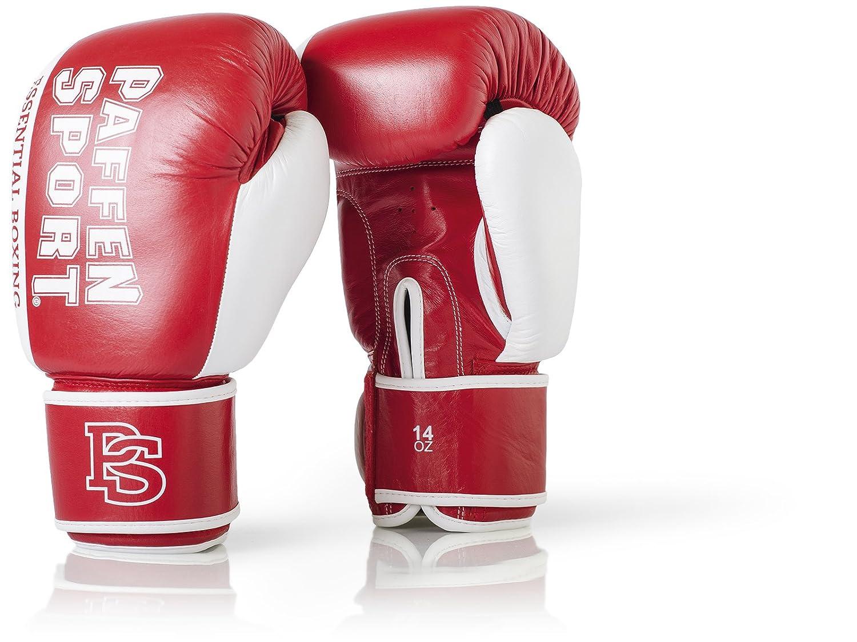 Paffen Sport Essential Echtleder-Boxhandschuhe f/ür Das Sparring und Training