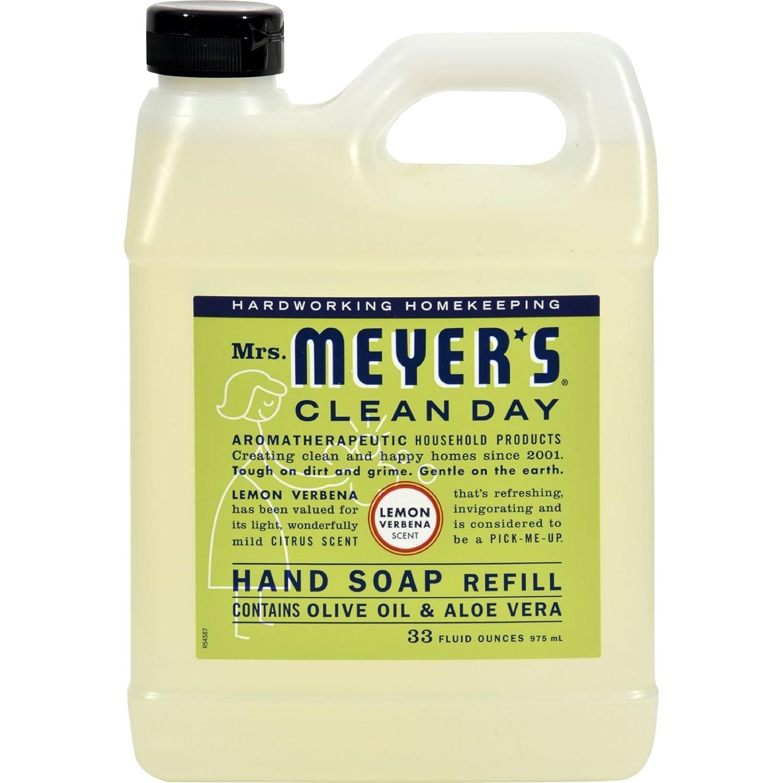 MRS. MEYER'S, HAND SOAP,LIQ,REFL,LMNVRB 33 FL OZ EA 1 MRS. MEYER' S hhh-kyyy-tra-rat4016