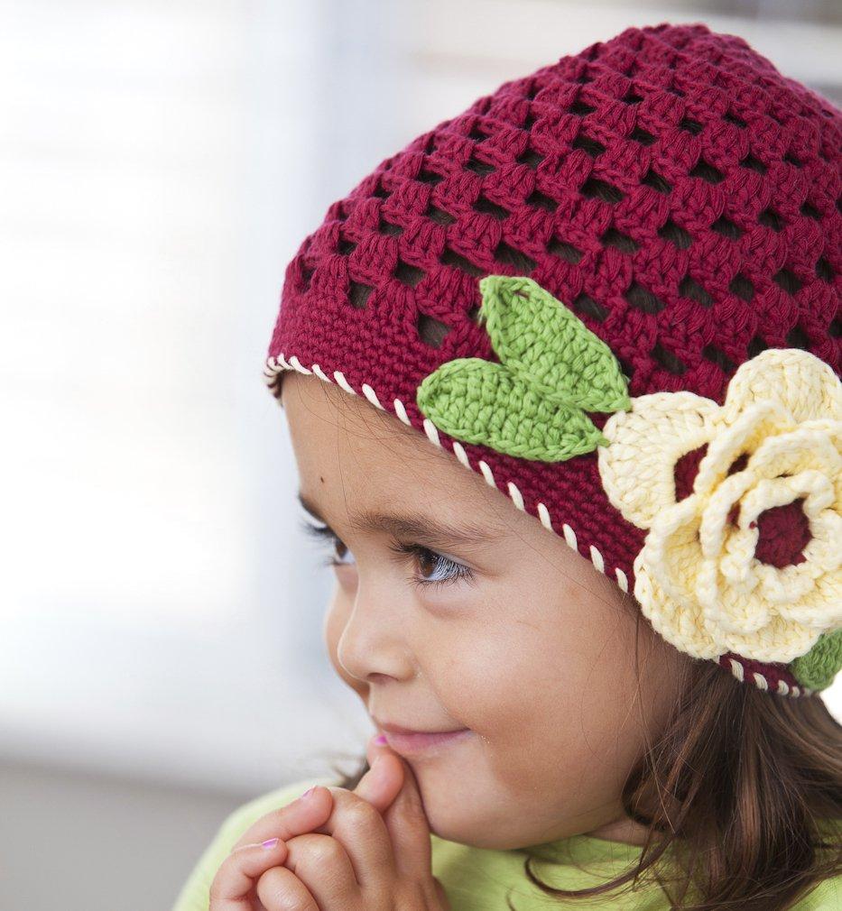 Amazon Baby And Girls Crochet Hat Size Medium 1 3 Years Baby