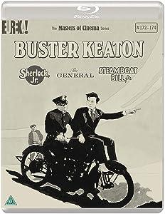 Buster Keaton: 3 Films(Sherlock Jr., The General, Steamboat Bill, Jr.) [Masters of Cinema] [Blu-ray]