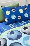 Catherine Lansfield Kids Football Single Duvet Set - Blue