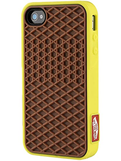 b7130b3dca42dc Amazon.com  Vans Waffle Case - Yellow brown  Cell Phones   Accessories