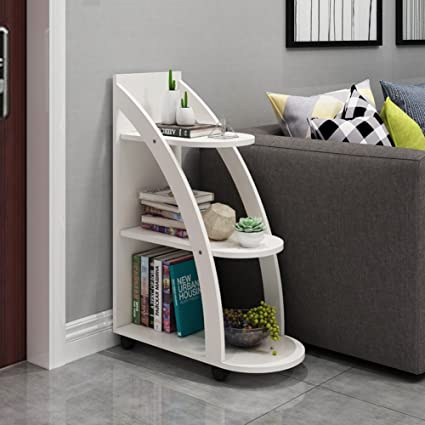 Amazon.com: BJAB Ash Side Table Sofa Side Creative Small ...