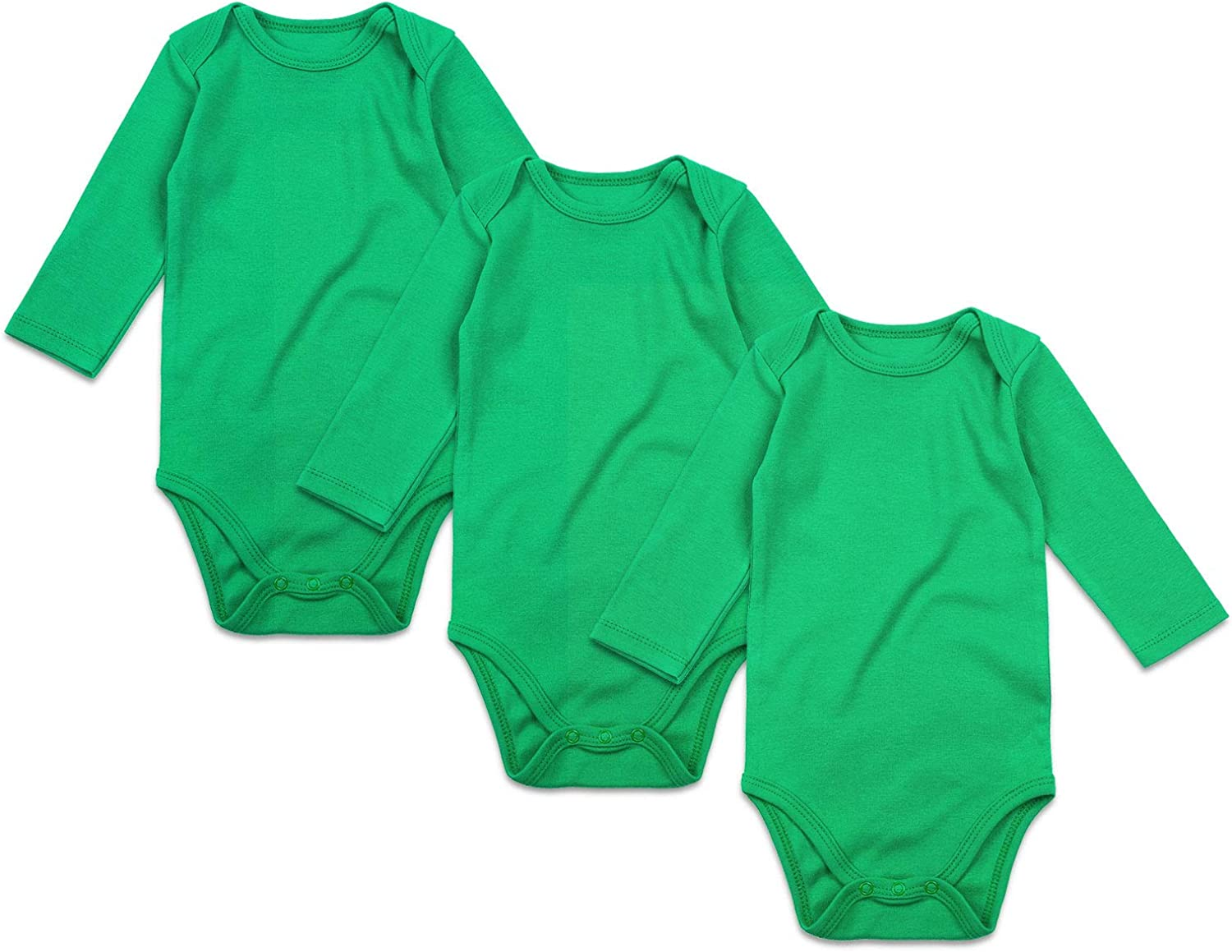 ROMPERINBOX Place Unisex Baby Bodysuits 100% Cotton Boys Girls 0-24 Months: Clothing