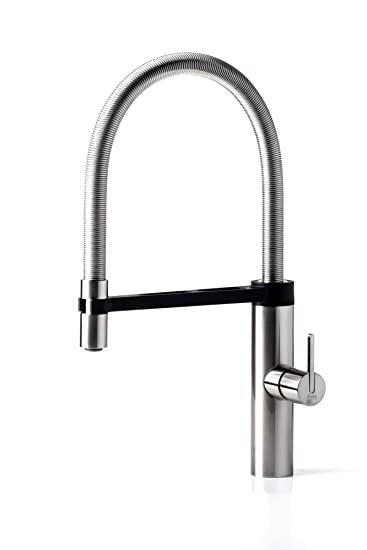 awa robin spring rubinetto miscelatore da cucina con doccetta