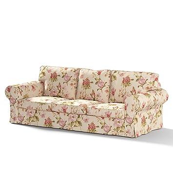 Fantastisch Dekoria Ektorp 3 Sitzer Sofabezug Nicht Ausklappbar Sofahusse Passend Für  Ikea Modell Ektorp Beige Ektorp