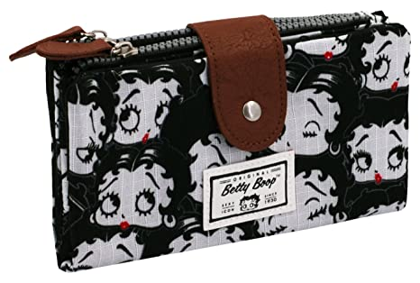 Karactermania Betty Boop Noir Monederos, 18 cm, Negro ...