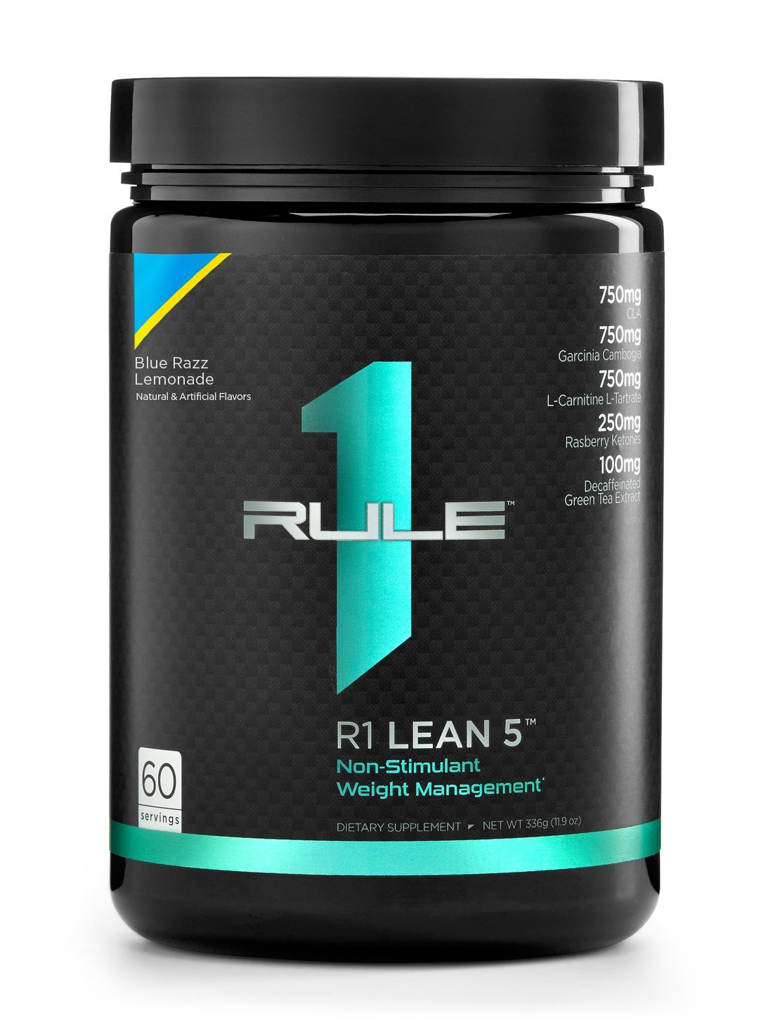 R1 Lean 5, Rule 1 Proteins (Blue Razz Lemonade, 60 Servings)
