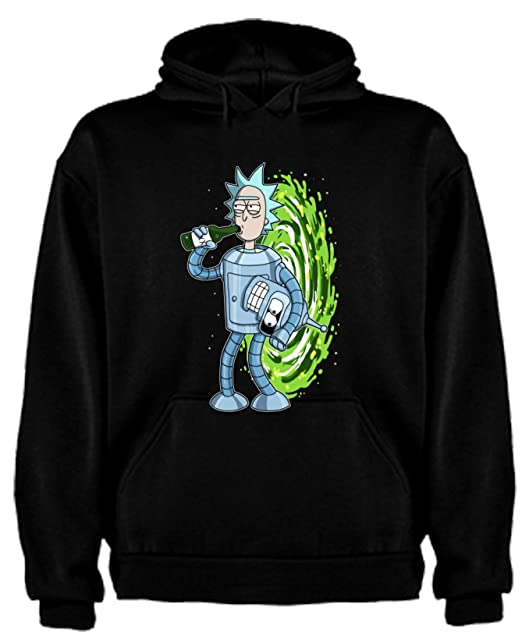 Sudadera de Hombre Rick and Morty Divertida Friky Smith Tiny: Amazon.es: Ropa y accesorios