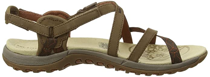 Merrell Jacardia Sandale Femme Marron (Dark Earth