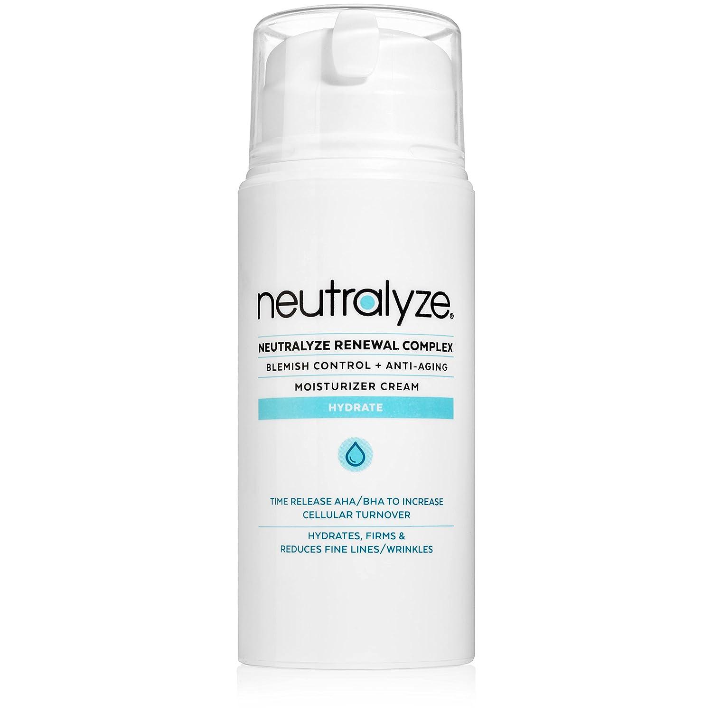 Neutralyze Renewal Complex (3.4 oz) - Maximum Strength Anti Acne + Anti Aging Moisturizer Cream