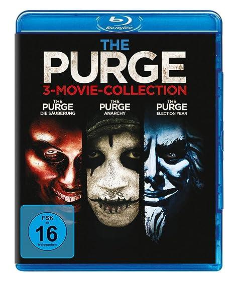 The Purge - Trilogy [Alemania] [Blu-ray]: Amazon.es