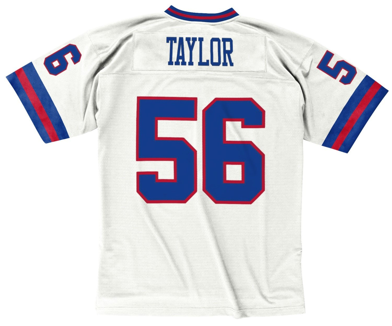 finest selection b2d6a 6e91a Mitchell & Ness Lawrence Taylor New York Giants White 1986 Throwback Jersey