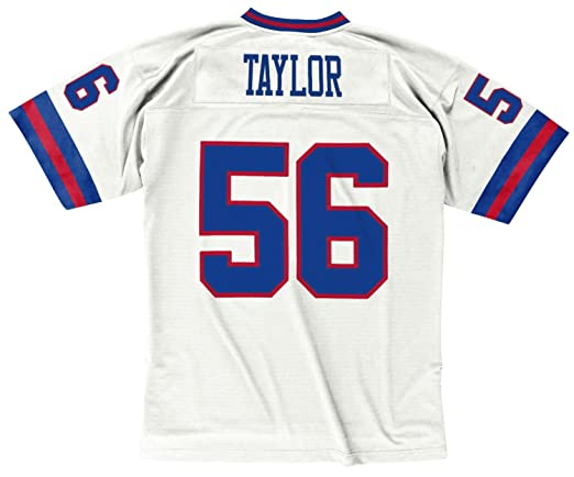 aa48d911f50 Amazon.com : Mitchell & Ness Lawrence Taylor New York Giants White 1986  Throwback Jersey : Clothing