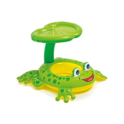 "Intex Recreation 56584EP Froggy Friend Shaded Baby Float Toy, 8"", Multicolor: Toys & Games"
