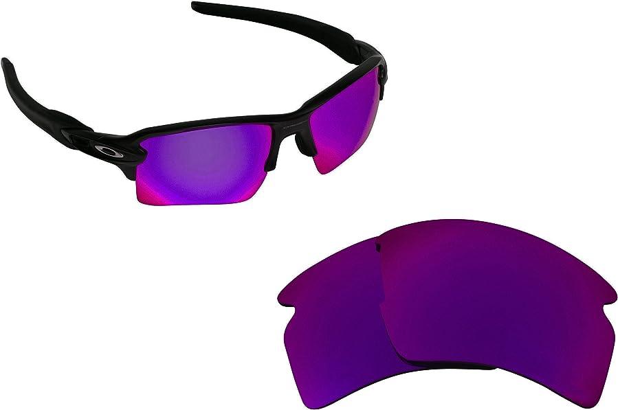 Best SEEK Replacement Lenses for Oakley FLAK 2.0 XL Purple Mirror