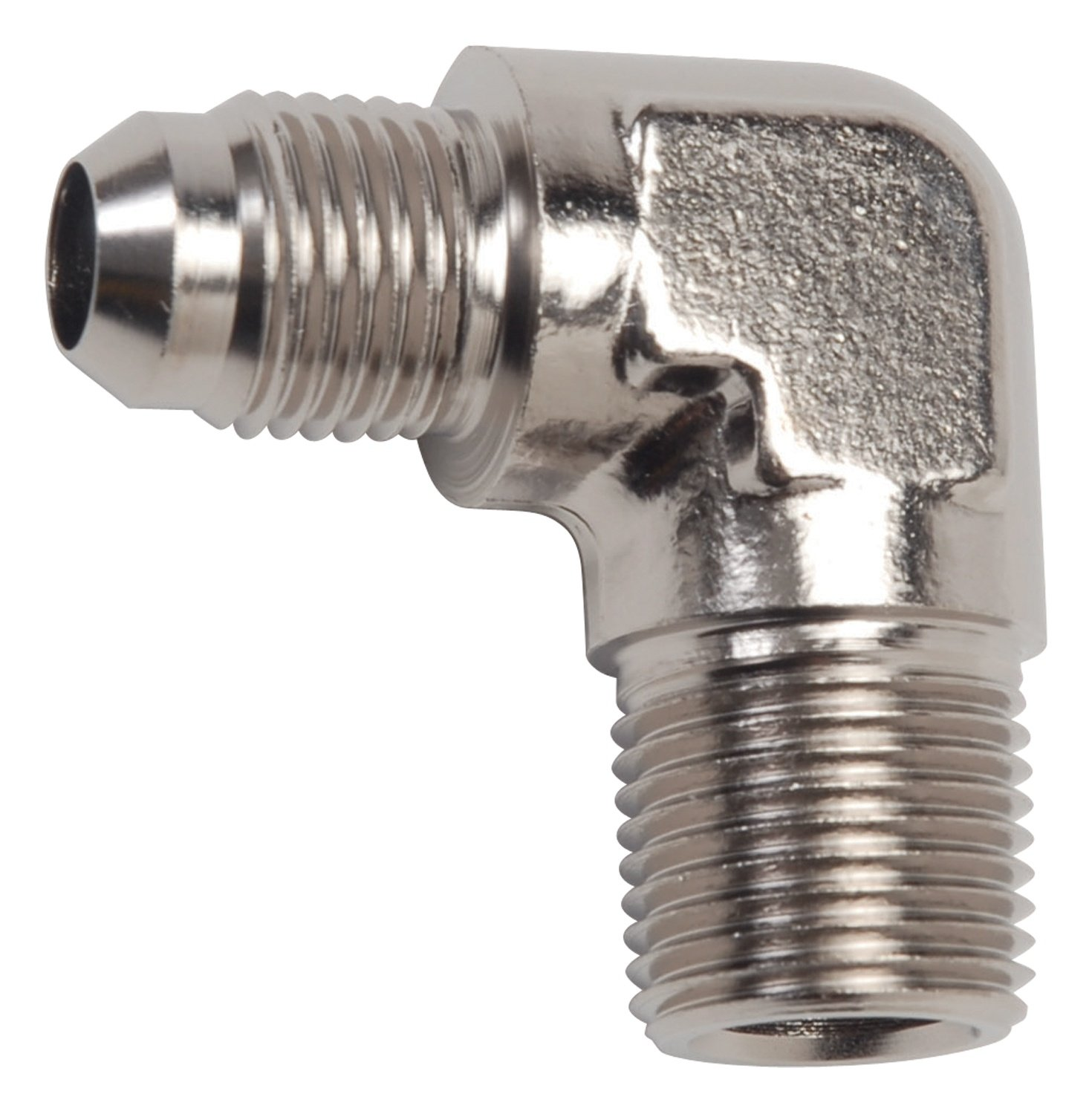 Russell 660831 -6 AN 90 Degree Flare to Pipe Adapter Fitting