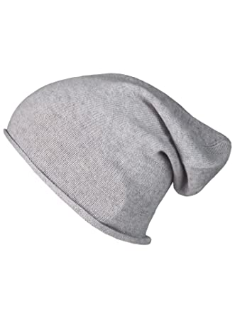 Cashmere Dreams Slouch-Beanie-Mütze aus 100% Kaschmir - Hochwertige  Strickmütze für Damen 678678e273