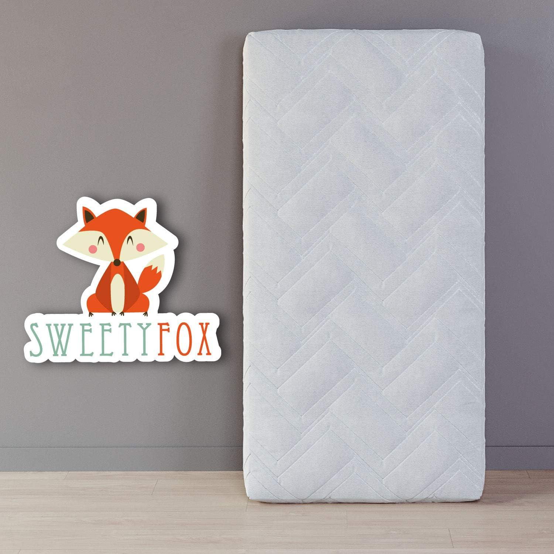 Para Cama Infantil y cunas de bebe Sweety Fox Comodidad Dos lados Verano e Invierno Colch/ón Cuna de Beb/é 60x120 Frescor y Mantiene Caliente -11cm de Grosor y densidad de 25kg//m3
