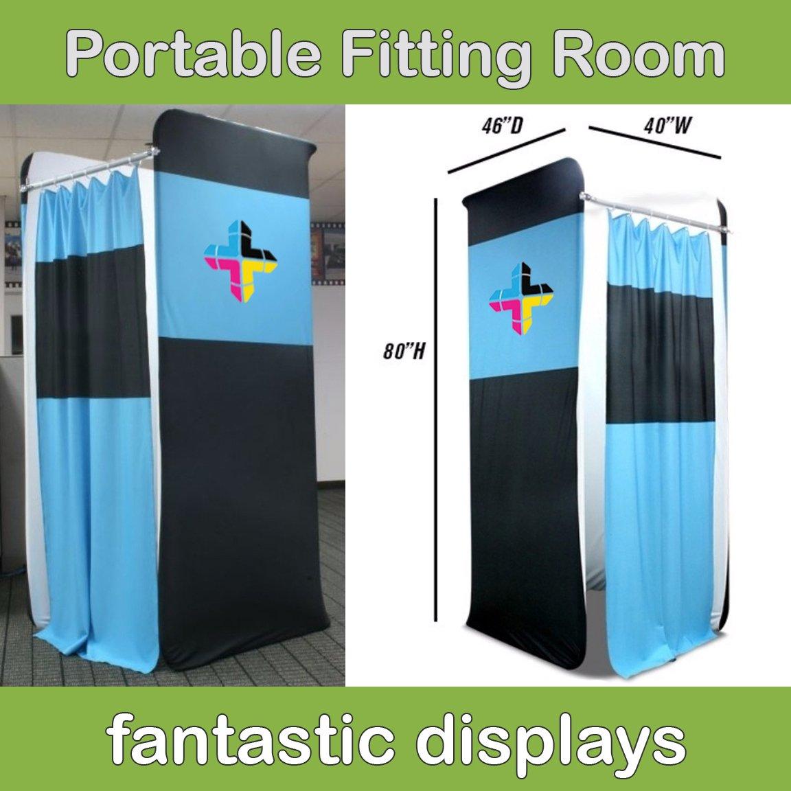 Fantastic Displays 8ft. Portable Dressing Room by Fantastic Displays