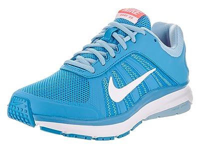 NIKE Womens Dart 12 Blue Glow White Blcp Brght MNG Running Shoe 65