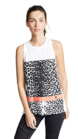 7c88dbe30b36 adidas by Stella McCartney Women s Essentials Leopard Tank