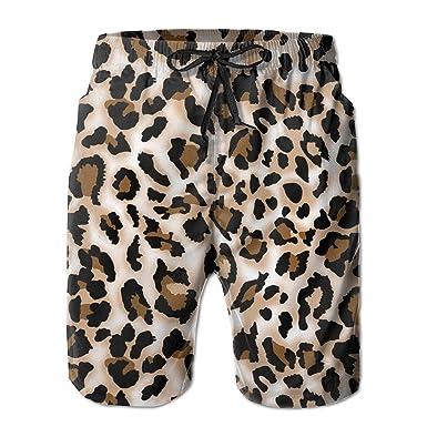 Magictop Estampados de Leopardo Impreso Pantalones Cortos de ...