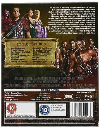Amazon.com: Spartacus: Vengeance-Complete Series 2 [Blu-ray]: Movies & TV