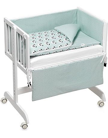 Funny Baby Codream - Minicuna colecho con vestidura y colchón, color pandy mint