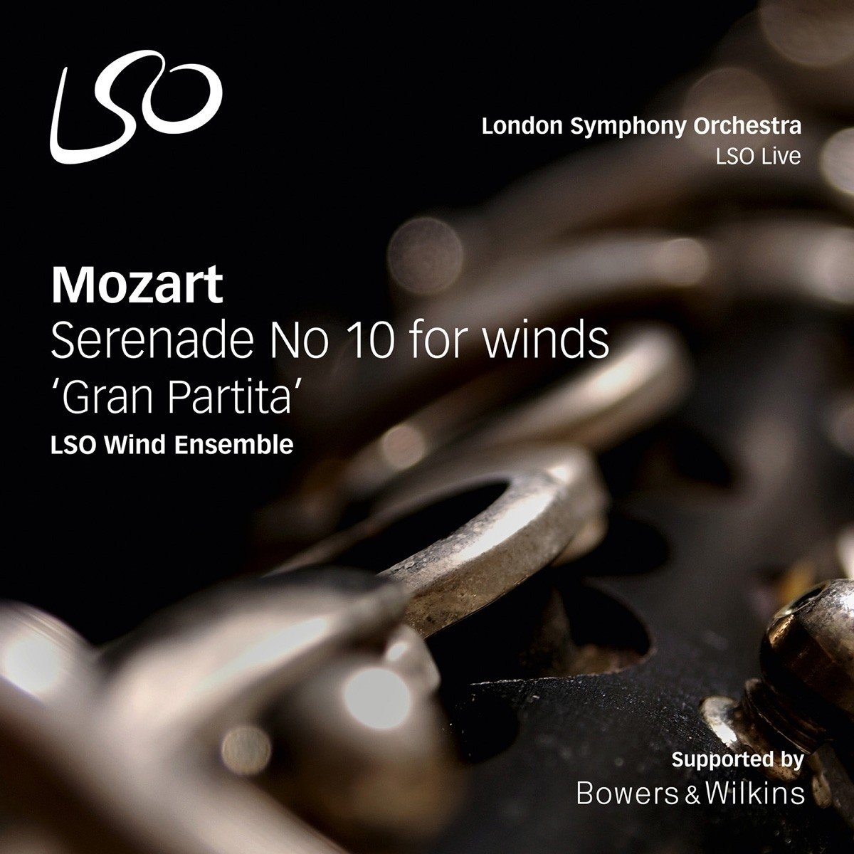 Mozart: Serenade No. 10 for Winds \'\'Gran Partit\'\' (Hybrid SACD)