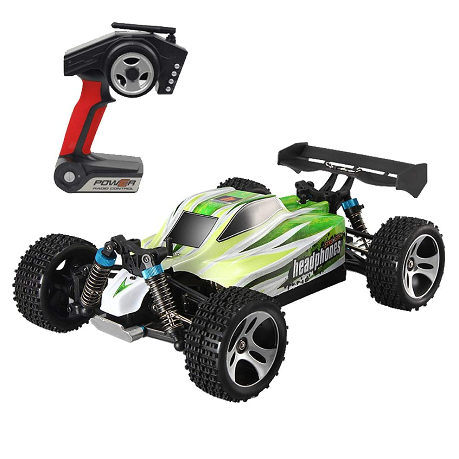 Happy Event WLtoys A959B Improved 4D 2.4G RC Car 540Motor High Speed 70km/h 1: 18Toy for Kids and Adults