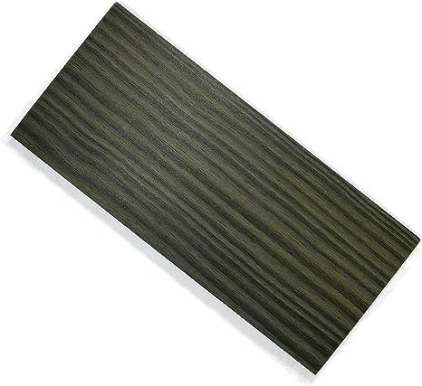 Cocobol de 2 a 3 mm de grosor, madera de ébano estabilizado, placa ...
