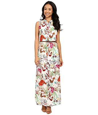 dae5473eb8 KUT from the Kloth Women s Violet Printed Maxi Dress Fuchsia Dress ...