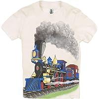 Shirts That Go Little Boys' Steam Train T-Shirt