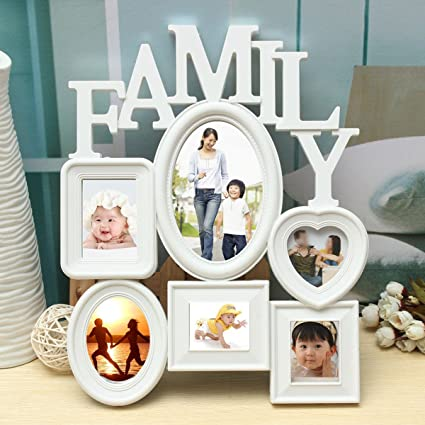 Amazon com - Family Picture Frames Photo Frame Wall Hanging