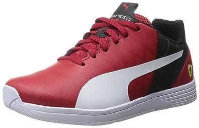 Eliminación Desviarse los  Buy Puma Evospeed 1.4 SF JR Sneaker (Little Kid/Big Kid), Rosso  Corsa/White, 3.5 M US Big Kid at Amazon.in