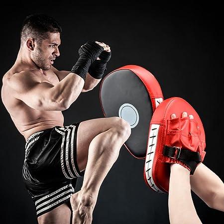 Objetivo de boxeo, Guantes de boxeo, almohadillas de boxeo, protectores de artes marciales para patadas para adultos: Amazon.es: Deportes y aire libre