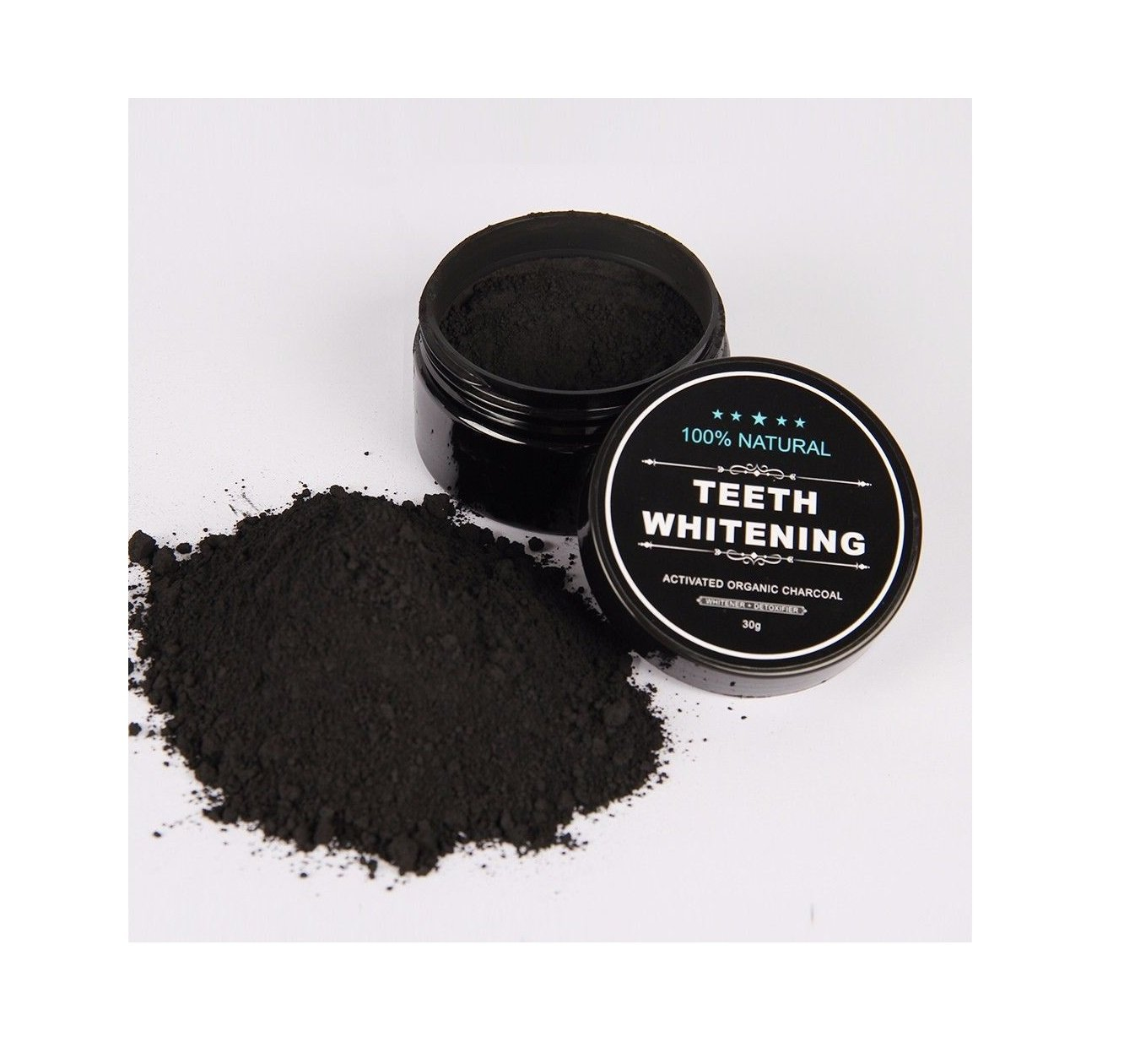 100 Organic Coconut Activated Charcoal Natural Teeth Eco Tools 1332 Glow For It Whitening Powder Gum Kit By 24 7 Store Beauty